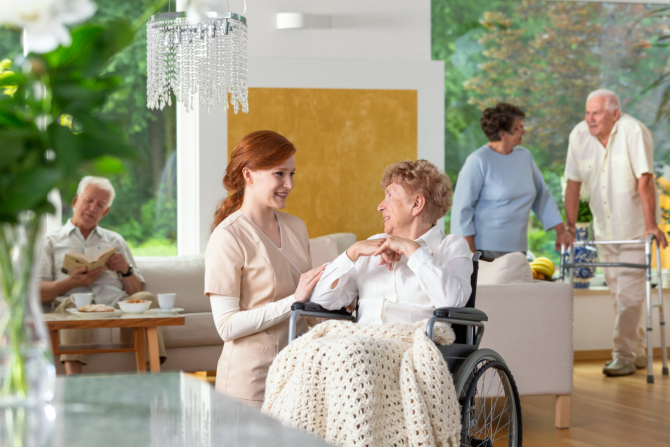 A Safe Living Environment for Your Senior